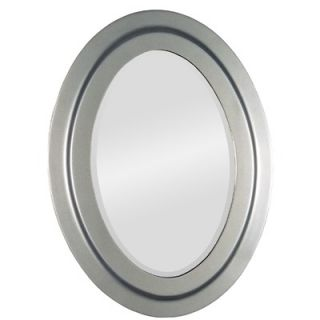 Ren Wil Beveled Wall Mirror in Nickel