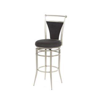 Hillsdale Cierra Black Swivel 30 Bar Stool   4903 830