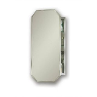 Broan Nutone Metro Beveled Mirror Cabinet with Three Shelves
