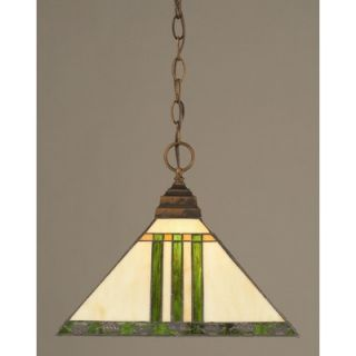 Toltec Lighting Jazz 1 Light Mini Pendant   232 B