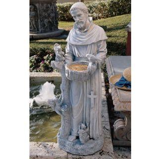 Design Toscano Natures Nurturer St. Francis Statue