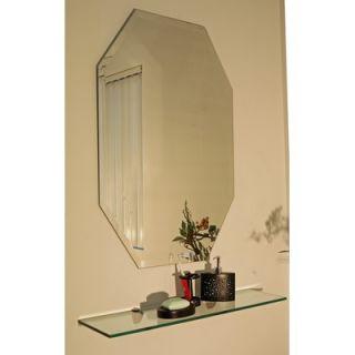 Glass Regency Octagon Frameless Mirror   219 2030 / 220 2436