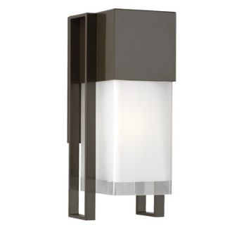 Philips Forecast Lighting Clybourn Outdoor Wall Lantern in Bronze TDL
