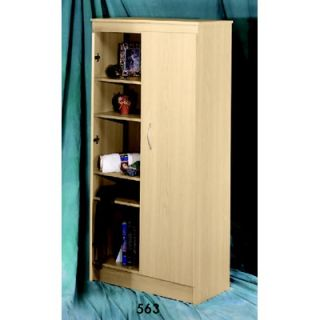 Nexera Wall Street Five Shelf Storage Unit