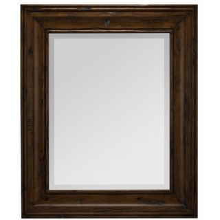 Cooper Classics Hollins Rectangular Mirror in Distressed Pine   5995