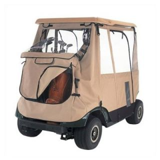 Classic Accessories Fairway Deluxe 3   Sided Golf Car Enclosure