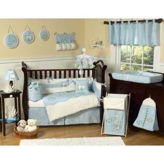 Sweet Jojo Designs Go Fish 9 Piece Crib Bedding Set   GoFish 9
