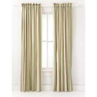 Pine cone hill madeline stripe window panel in sage q227sawp