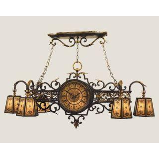 Fine Art Lamps Epicurean 6 Light Kitchen Island Pendant