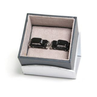 Cufflinks Inc London Taxi Cab Cufflinks in Black