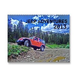 Jeep Adventures 2013 off road calendar