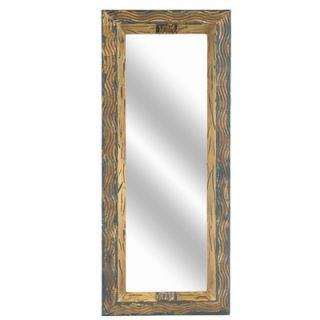 Crestview Wavy Metallic Rectangular Mirror   CVMRA237