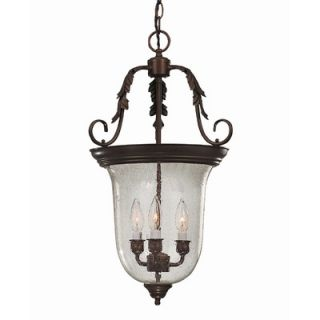 Savoy House Entry Lanterns 3 Light Foyer Pendant   3 8521 3 13