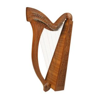 Minstrel Harp Knotwork  Irish Celtic