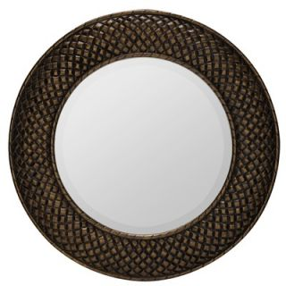 Cooper Classics Hewitt Mirror in Aged Gold
