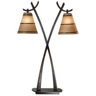 Kenroy Home Wright Table Lamp in Oil Rubbed Bronze