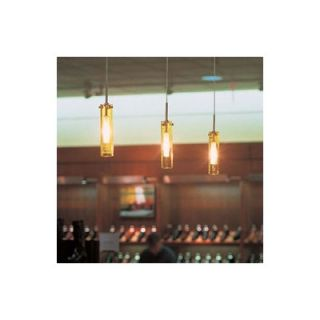 LBL Lighting Top SI Coax 1 Light Mini Pendant