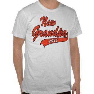 2011 New Grandpa T Shirt