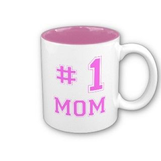 Number One Mom Mug For Mom Mother's Day Gift Cup by ... |Number One Cup Mom