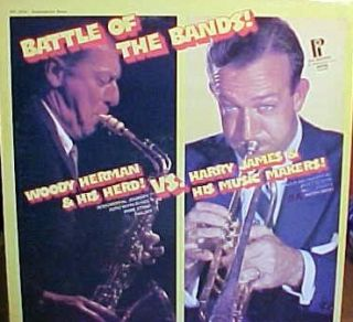 Woody Herman Harry James LP Battle of The Bands
