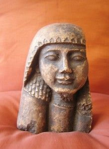 Handmade Statue of Ancient Egyptian Pharaoh Queen Hatshepsut