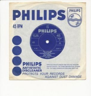 Harry Secombe This Is My Song Philips BF1539 Vinyl 7