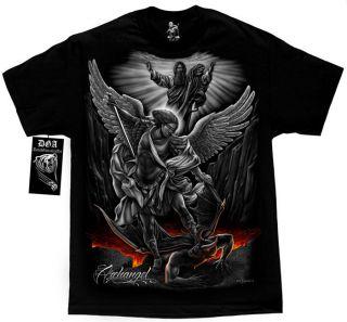 DGA David Gonzalez Art  Archangel  Shirt Black Various Sizes
