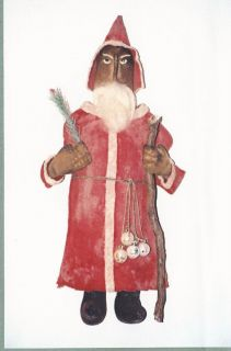 Pattern Primitive Santa German Belsnickle Sunnyknoll