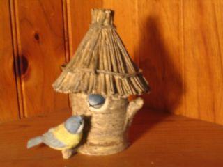 Hallmark Marjolein Bastin Natures Sketchbook Bird House Trinket Box