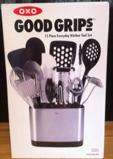 OXO Good Grips Stainless Steel Kitchen Tool Set 15 Piece