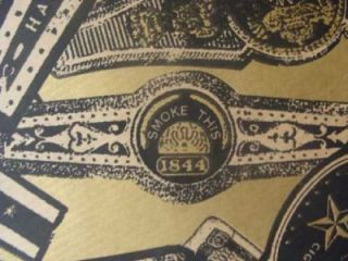 Vintage LG Roll Cigar Band Wrapping Paper