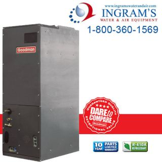 Goodman Air Handler with Flowrator 3 to 3 5 Ton Aruf Model R 22 Only