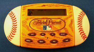 BASEBALL ELECTRONIC HANDHELD HASBRO BOARD GAME QUESTIONS MLB TOY