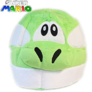 Super Mario Bros Figure Anime Cosplay Yoshi Plush Cap Fluffy Hat sport