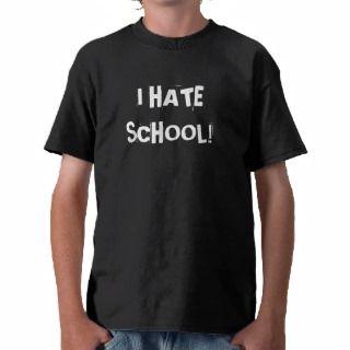 hate school T Shirt