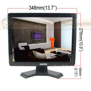 CCTV monitor, LCD monitor, HDMI, security TV monitor www