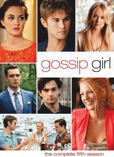 Gossip Girl The Complete Fifth Season DVD 2012 5 Disc Set