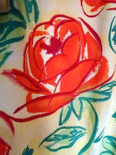 Jams World Hawaiian Floral Print Empire Shift Dress M