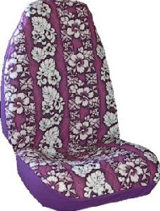 Purple Hawaiian Car Truck Seat Covers New Seatcovers CS