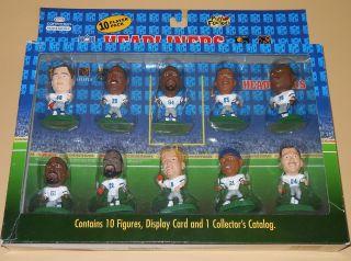 1996 Corinthian NFL Headliners Dallas Cowboys Team 10 Pack Action