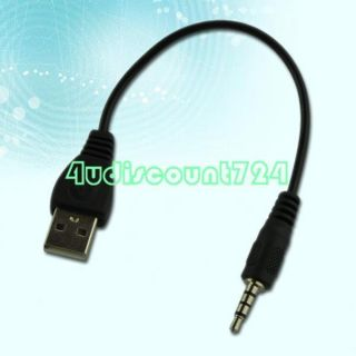 USB Male to 3 5mm Stereo Headphone Jack Audio Adapter