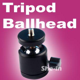 Mini Ball Head Stand Tripod Ballhead 1 4 3 8