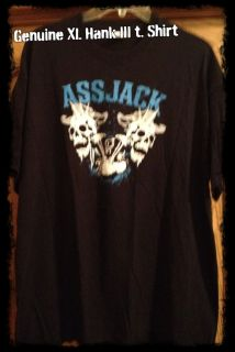 XL HANK WILLIAMS III ASSJACK original official t shirt