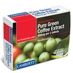Lamberts Pure Green Coffee Extract Slimming Supplement