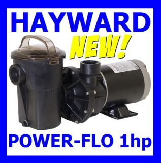 Above Ground Swimming Pool Pump Motor 1 HP Hayward