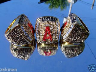 Newly listed 2002 Anaheim Angels World Series Championship Ring