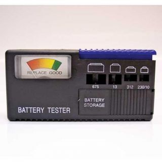 Activair Hearing Aid Battery Tester All Sizes Batteries