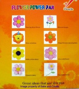 DAISY/ FLOWER POWER/ BIRTHDAY CAKE TIN NEW 4 VW CAMPER VAN FANS WITH