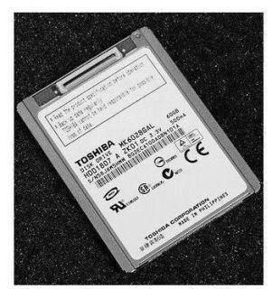 TOSHIBA MK6028GAL HARD DISK DRIVE HDD 60G Hard Drive fr iPod Video