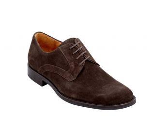 Johnston Murphy Headley Plain 20 3116 Men Brown Suede Shoe Retail $150